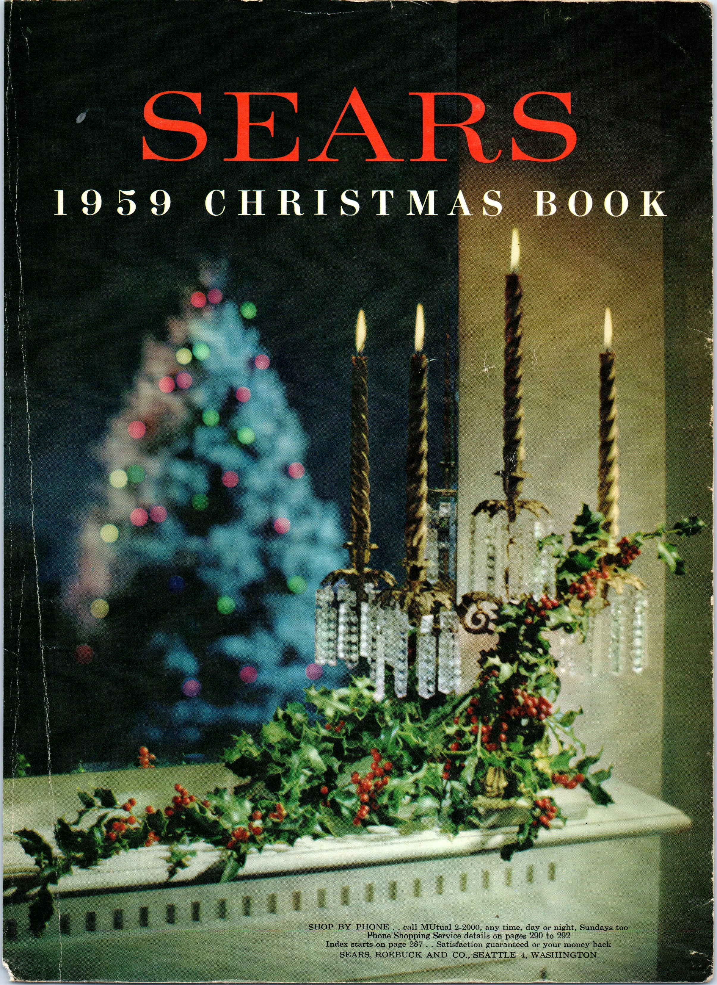 1959 Sears Christmas Book | Christmas books, Christmas catalogs, Vintage  christmas