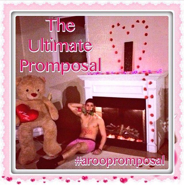 So eine kreative und lustige Idee für einen Abschlussball! #promposal # prom2014 #promgoals #homecomingproposalideas