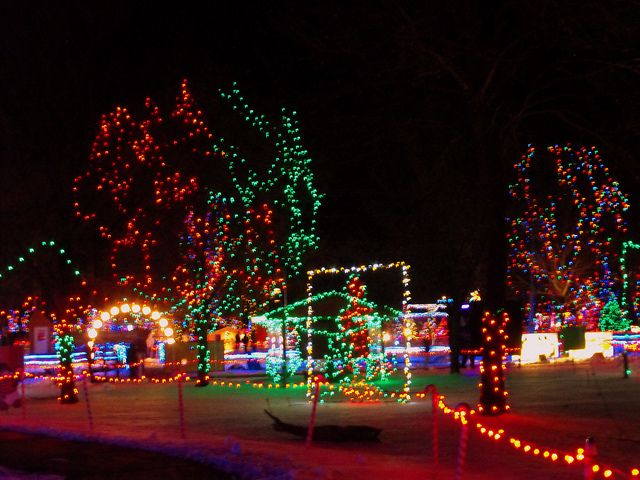 2010 Rotary Winter Wonderland Lights Display Marshfield, Wisconsin ...
