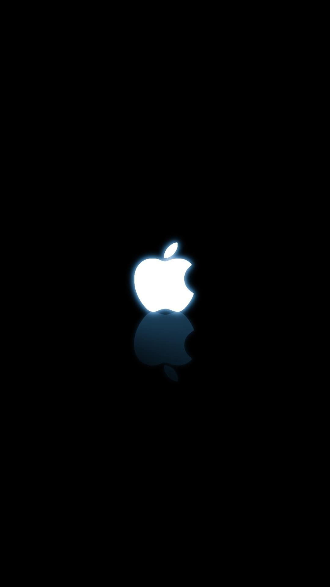 Black And White Apple Logo Iphone6 Wallpapers Iphone Wallpaper