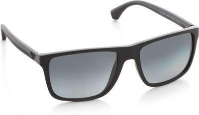 4edf11553b4 Emporio Armani Rectangular Sunglasses - Buy Emporio Armani Rectangular  Sunglasses Online at Best Prices in India