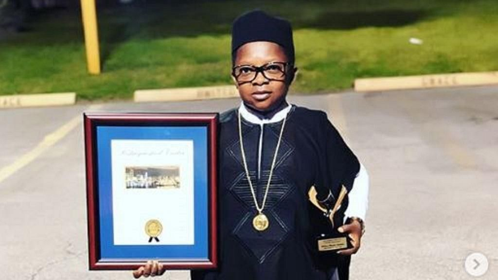 Chinedu ikedieze honoured as distinguished visitor photos