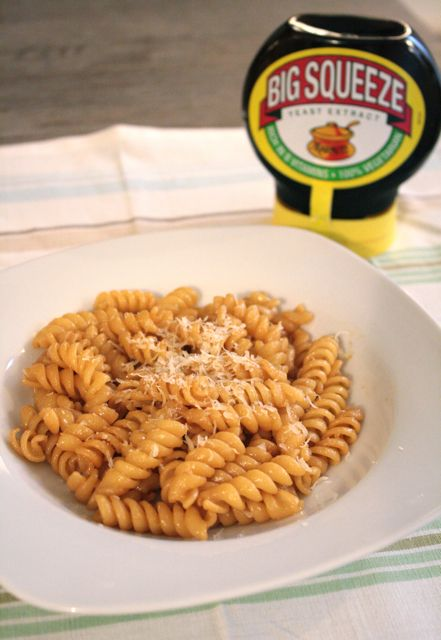 Whip up a quick and simple dinner with this Pasta and Marmite recipe.