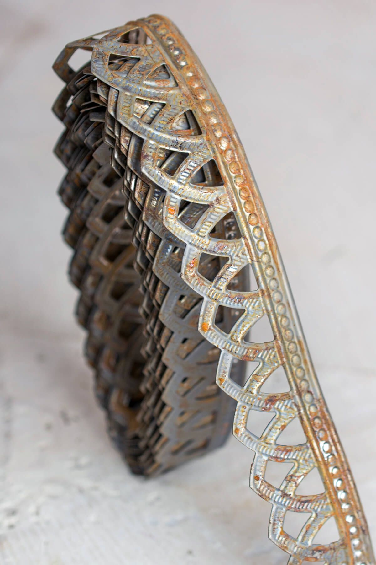 Metal Trim Ribbon Roman 1in X 15 Ft