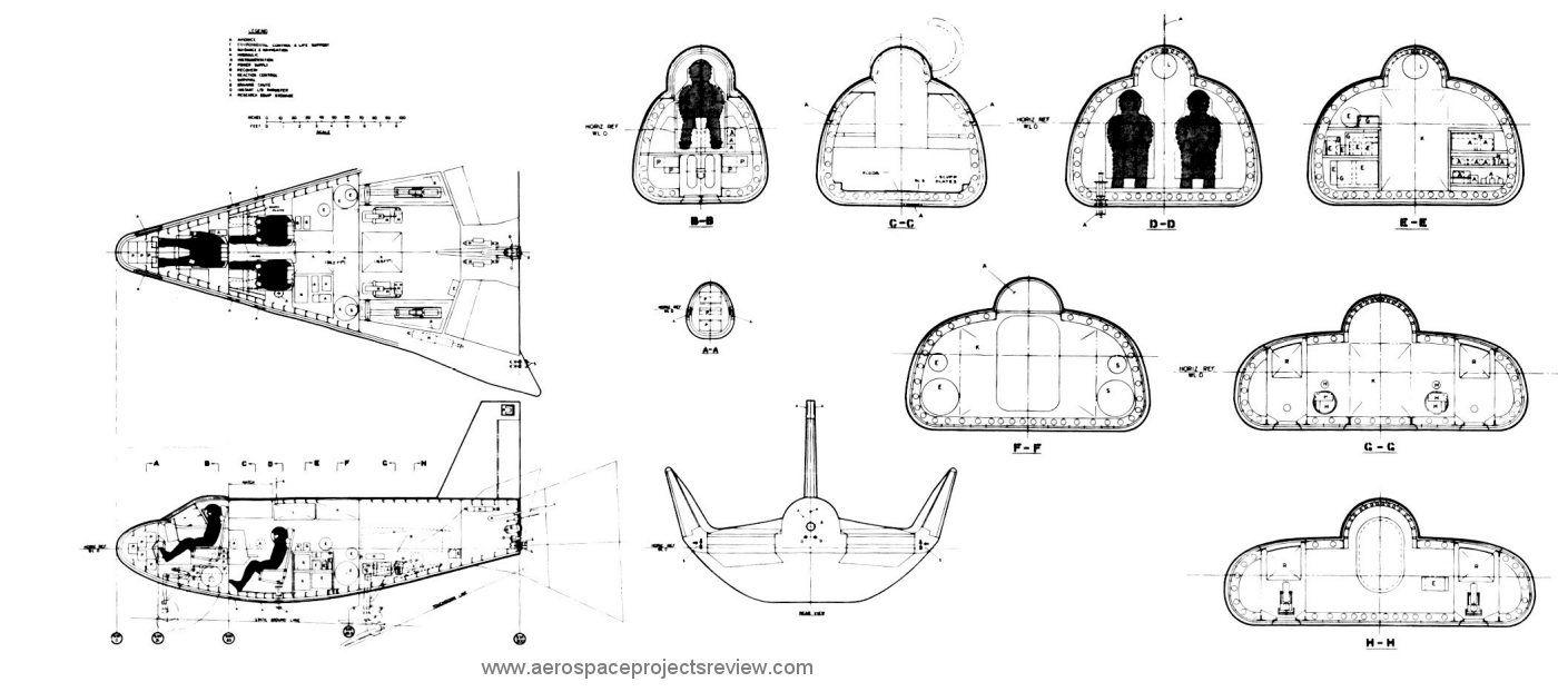 Martin Marietta HL-10 concept model