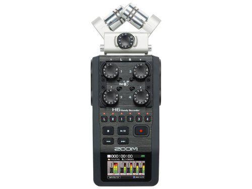 Amazon.com : Zoom H6 6 Track Portable Digital Recorder : Portable Studio Recorders : Musical Instruments
