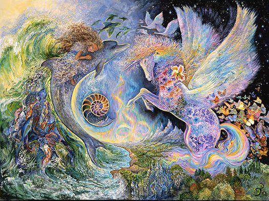 Magiical Meeting - Josephine Wall