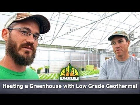 Low Grade Geothermal Heating And Cooling For Greenhouses We Were Down There Interviewing Jd About The Work They W Heating A Greenhouse Aquaponics System Aquaponics