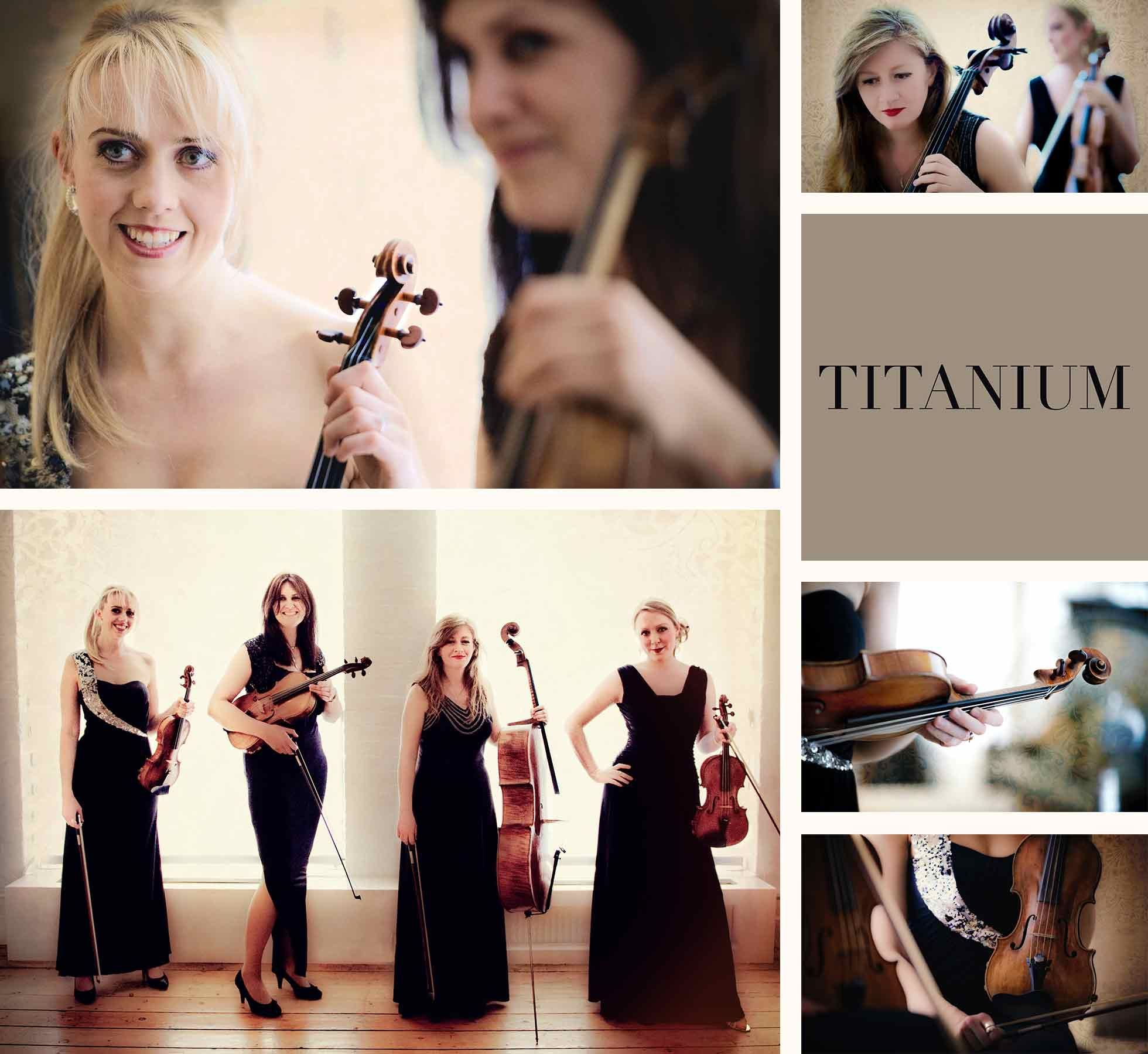 Titanium String Quartet London Provides Professional Live Music For Your Wedding Corporate Event Or Private Party In And The Home Counties