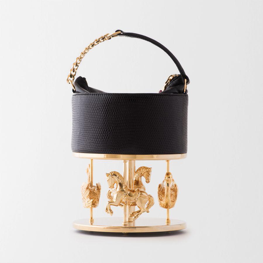 INES FIGAREDO - LA GRANDE DAME BLACK - Luxury Handbag  artistic inspiration  exclusivity  0a7664c5ba