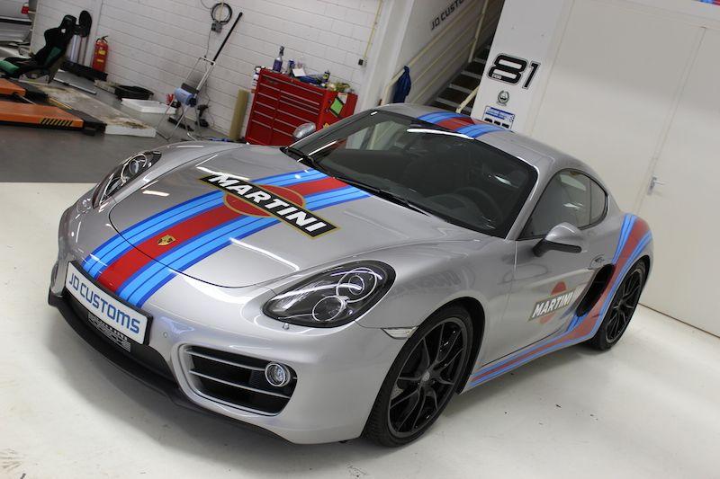 Porsche martini racing cayman
