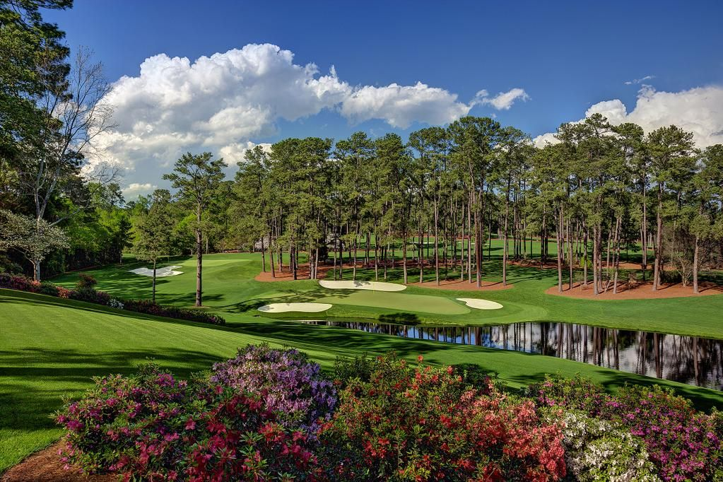 The Masters on Twitter Golf courses, Augusta national