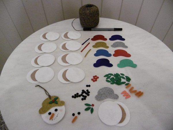 T te de bonhomme de neige decoration de noel christmas pinterest bonhomme de neige - Pinterest bonhomme de neige ...