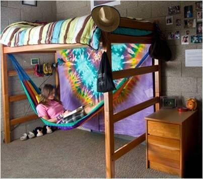 loft full with hammock underneath Google Search