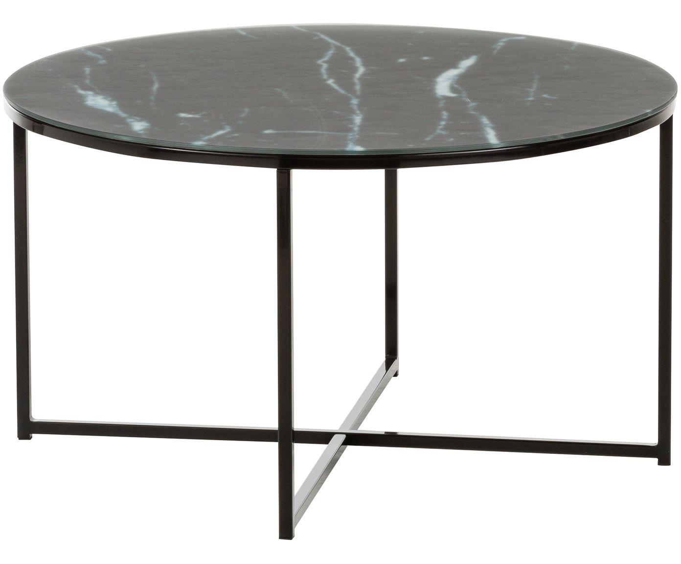 Machen Sie Ihr Wohnzimmer Mit Dem Couchtisch Antigua Aus Stahl Und Glas In Schwarzer Marmor Optik Zur Wohlfühloa Couchtisch Marmor Couchtisch Couchtisch Kaufen