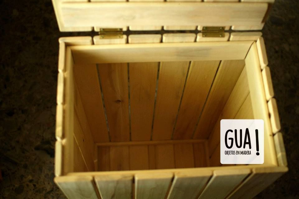 Pin En Cesto De Ropa By Gua Objetos En Madera