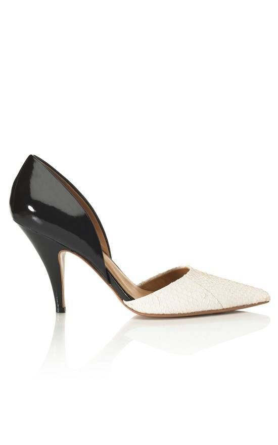 #Will go with any outfit: Phillip Lim Diamond D'orsay Pump $495