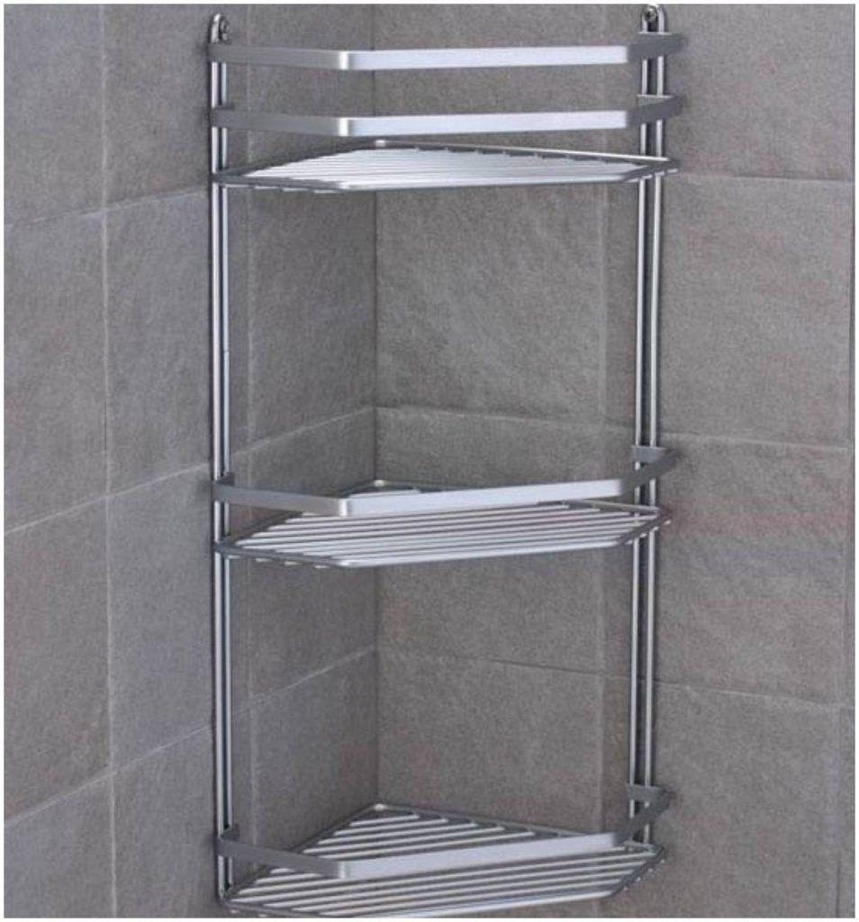Choosing The Best Bathroom Corner Shelf Corner Shower Caddy