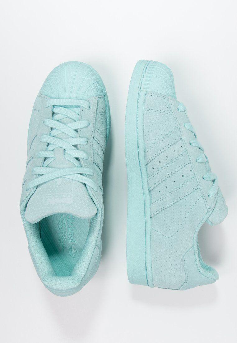 baskets adidas originals superstar rt baskets basses clear aqua bleu sfr. 105.00