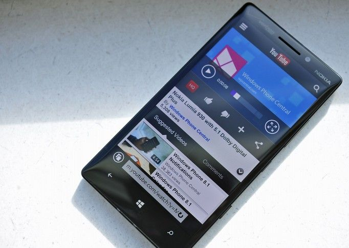 Windows phone 8.1 has an improved Youtube experience.