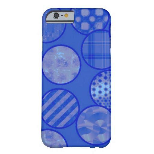 patchwork balls,blue iPhone 6 case