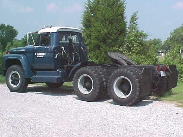 U S Air Forces 1966 Ford T 950 Semi Ford Trucks Ford Tractors