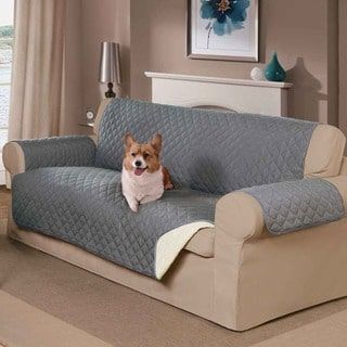 Home Decor Reversible Pet Sofa Cover | Overstock.com Shopping   The Best  Deals On