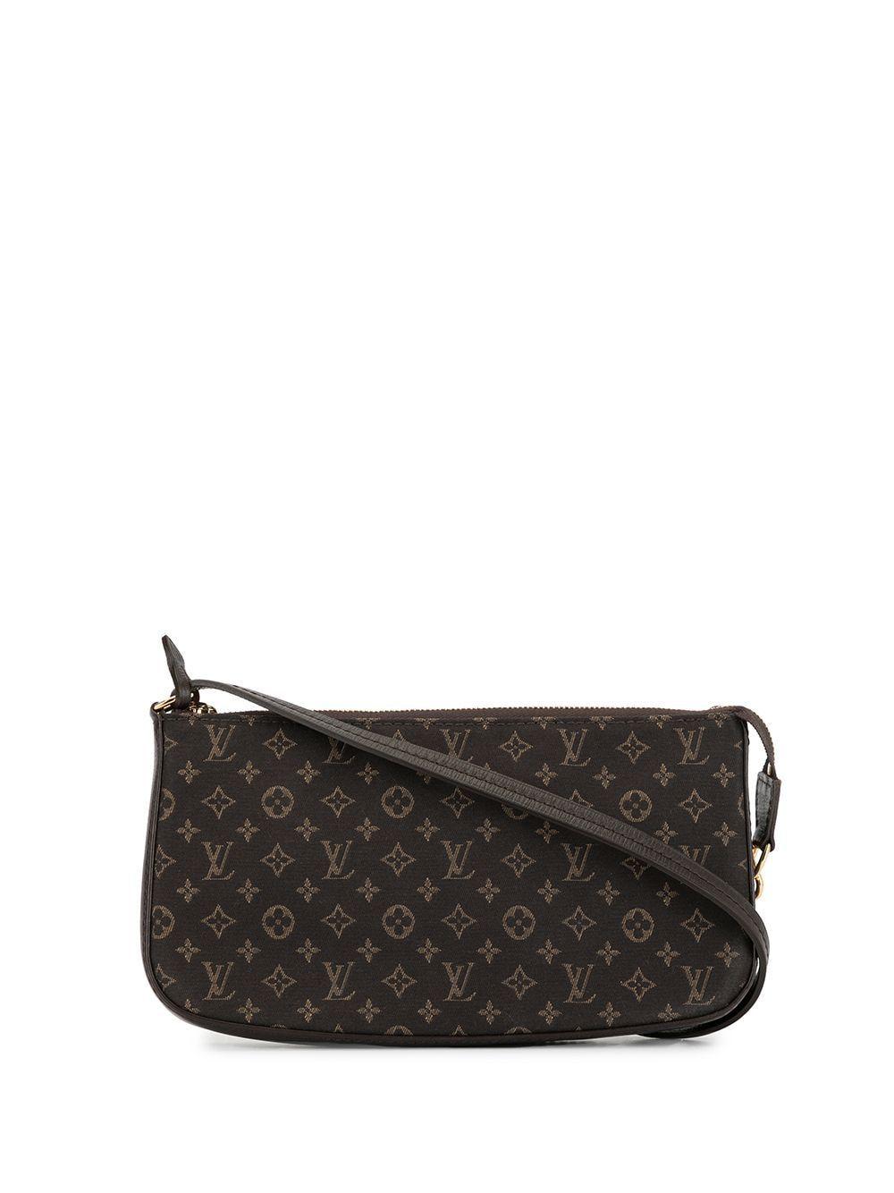 Louis Vuitton Logo印花单肩包 Louisvuitton Bags Louis Vuitton Bags Pre Owned Louis Vuitton