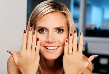 klum polish Heidi nail