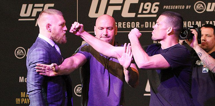Nate Diaz vs. Conor McGregor 2 Nearing Finality, Contracts