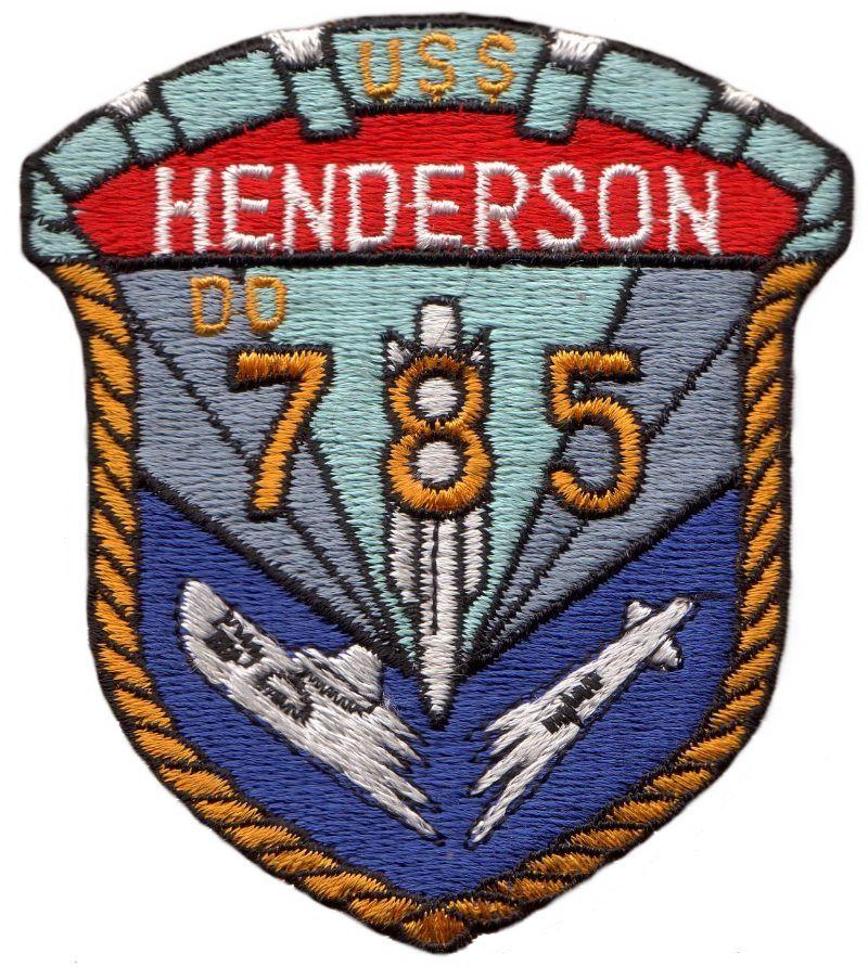 USS Henderson (DD-785)