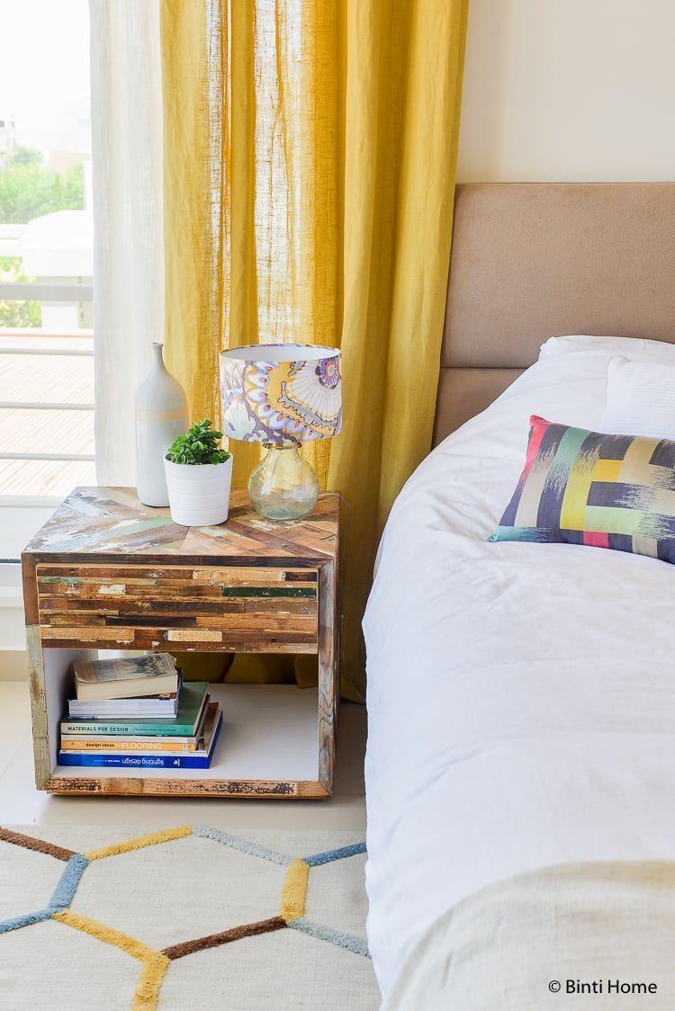 Ocher yellow summer house bedroom ©BintiHome #bedroom #slaapkamer ...