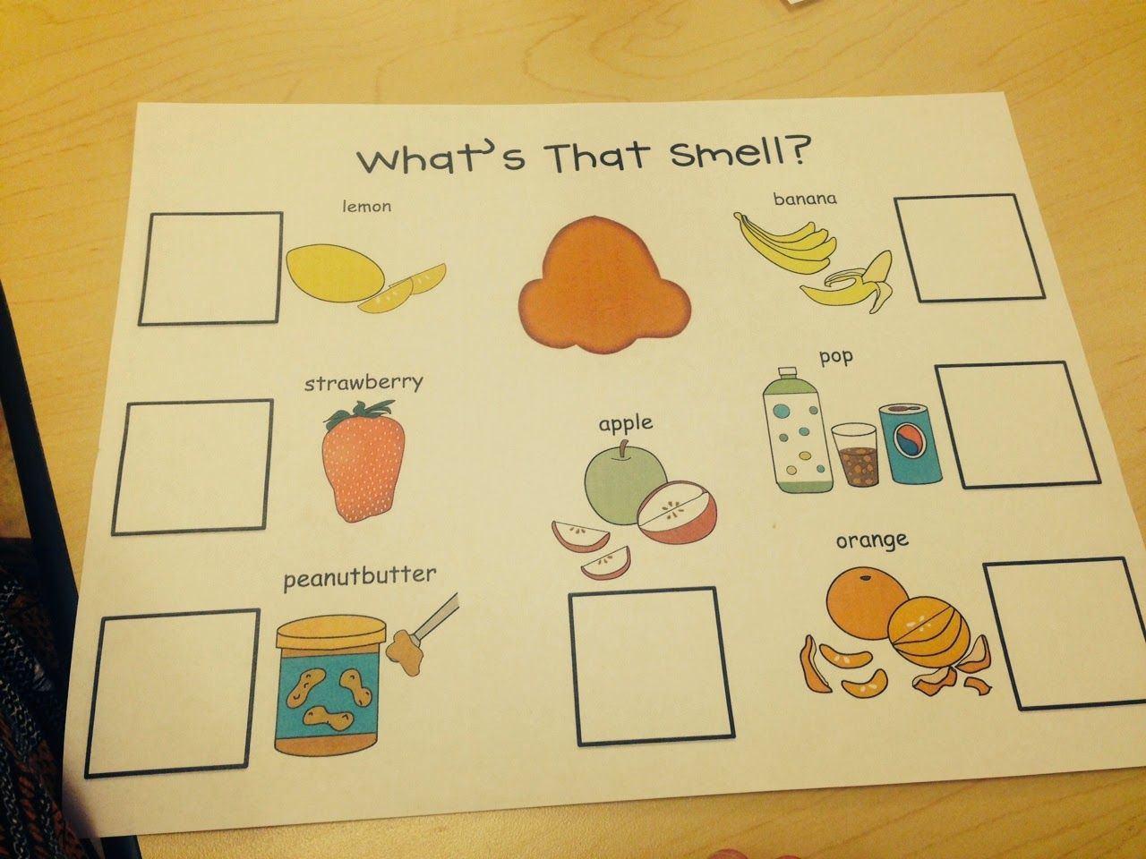 Sense Of Smell Activities From Preschool Wonders