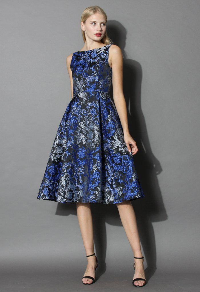 Baroque Love Embossed Prom Dress - New Arrivals - Retro, Indie and ...