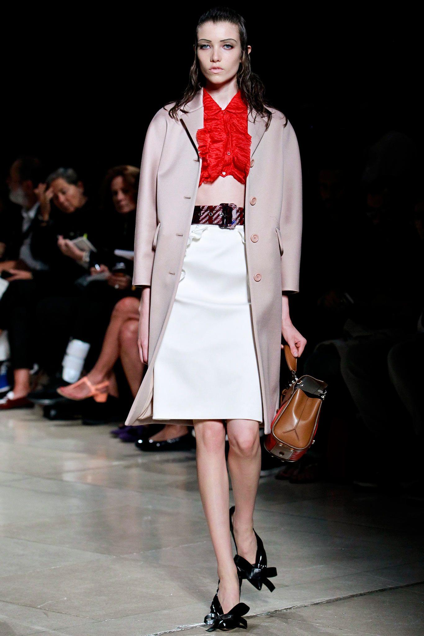 Miu Miu Spring Summer 2015: Warped Nostalgia   Grazia Fashion Shows @gtl_clothing #getthelook http://gtl.clothing