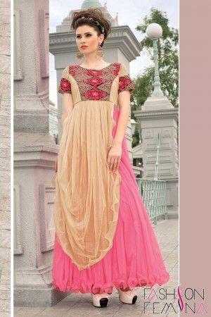 Pink Designer Gown #partywear #gown #designer #indian #women #ladies ...