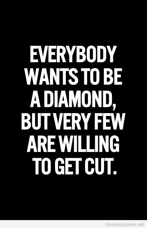 Diamond Quotes Brilliant Sayings About Diamonds  Inspirational Pictures Quotes For 2014