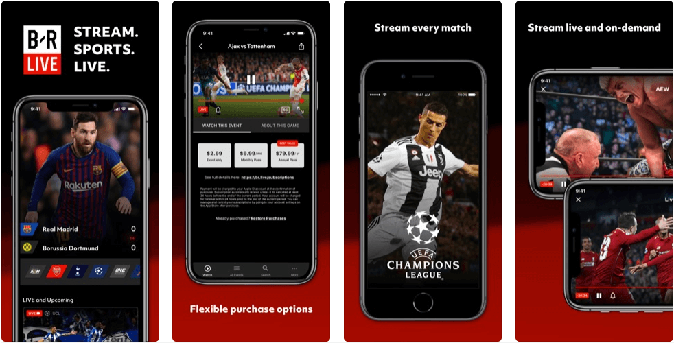 Pin by Film Complet Sur FB on Live Streaming Sport 2020 in