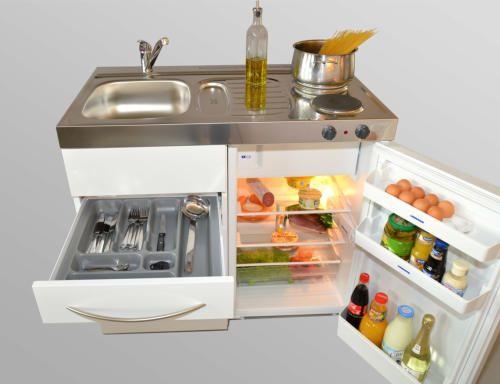 Mini cocinas compactas para pequeños espacios   cocinas con estilo ...