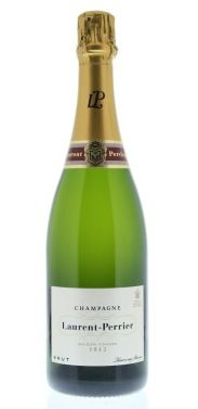 Laurent-Perrier Brut $39.99 The color is a pale golden hue, with fine and persistent bubbles. The nose is fresh and delicate, showing good complexity with hints of citrus and white fruit. Brut L-P's light style has led the way to making Champagne the ideal aperitif drink. meat.