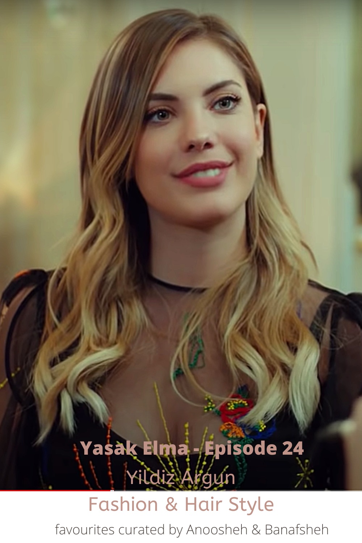 Styles From Yasak Elma Series Dizi Episode 24 Yasak Elma Fashion And Hair Style Turkish Series Fashion And Style Fashion And Style In Guzellik Kiyafet Elmalar