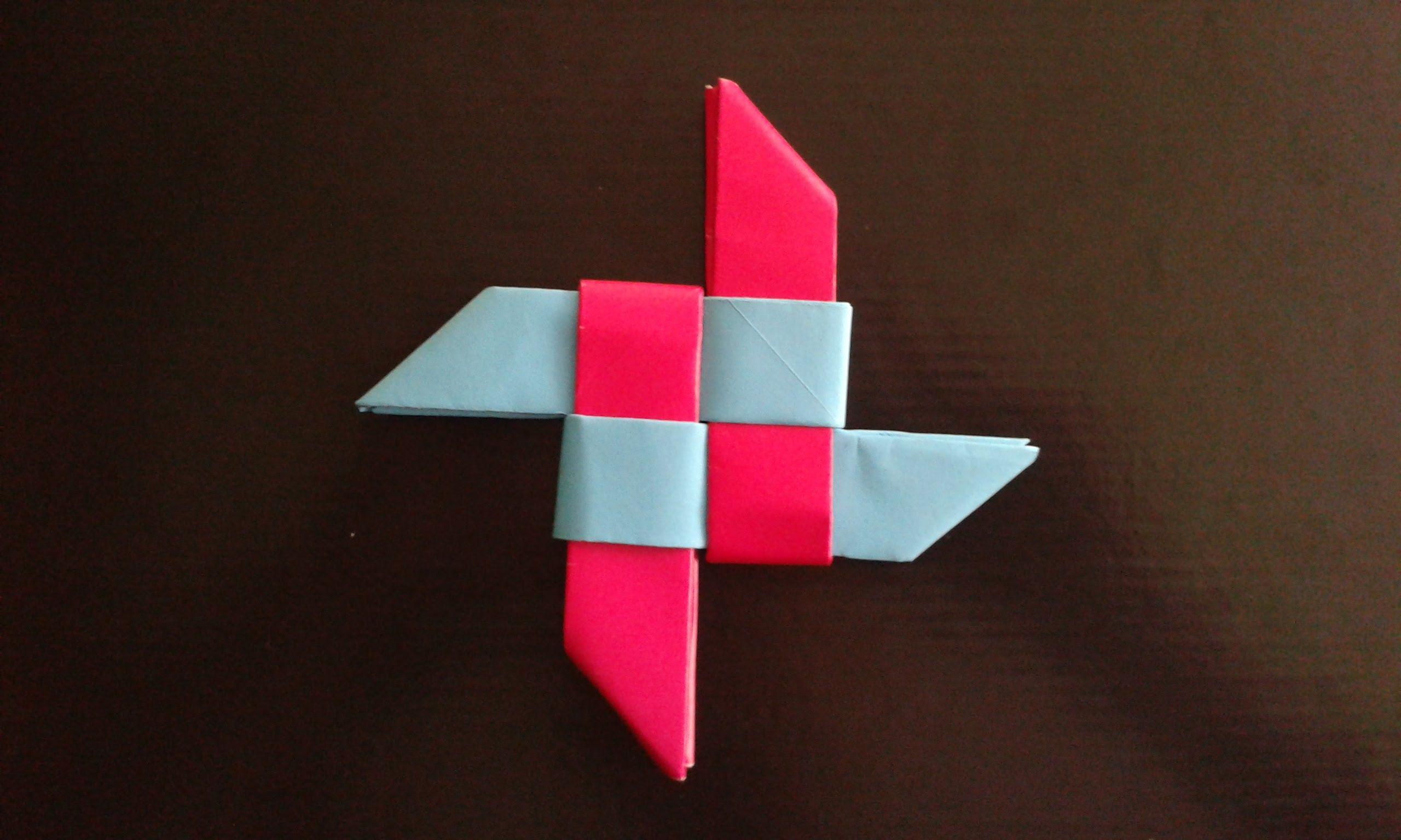 how to make a paper super ninja star