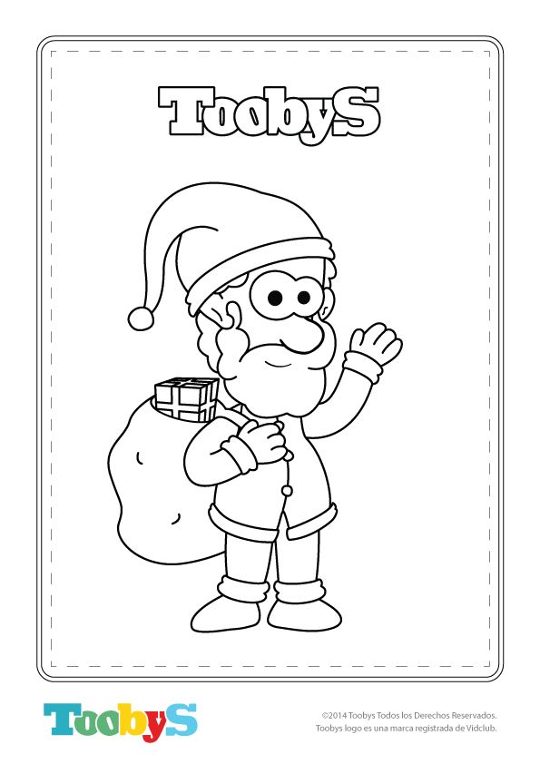 Motivos navideños para colorear. #Navidad2014   Páginas para ...