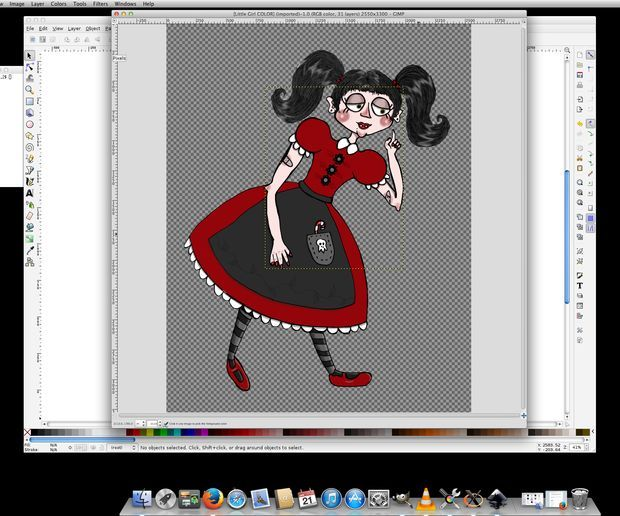 How to Make An Ink Drawing Into a Vector Graphic (Using InkScape)