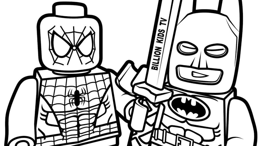 coloring.rocks! Lego coloring pages, Spiderman coloring