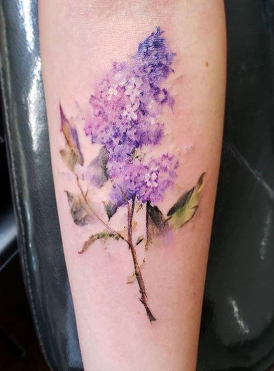 Image By Leanne Heath On Tatts Lavender Tattoo Lilac Tattoo Tattoos