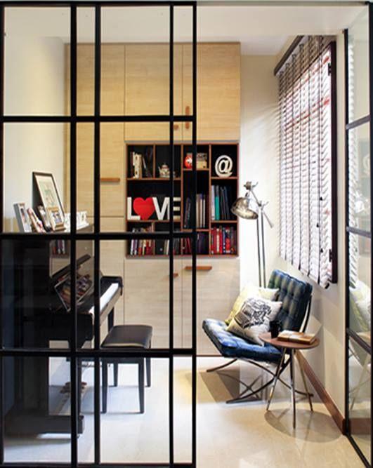 Condominium Study Room: Bedok Casafina, Transitional Condominium Interior Design