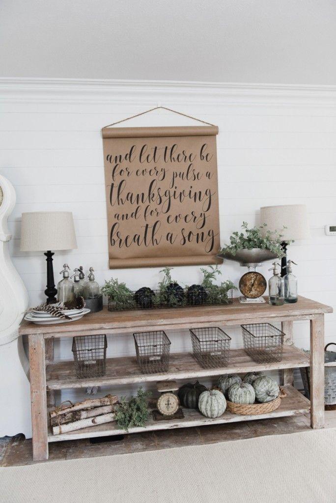 Hutch Decorating Ideas Farmhouse Dining Room