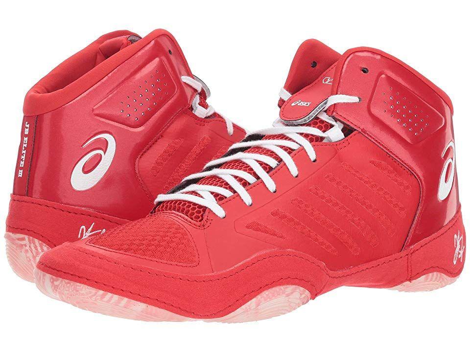 911282ad2072 ASICS JB Elite III (Classic Red White) Men s Wrestling Shoes. Designed for