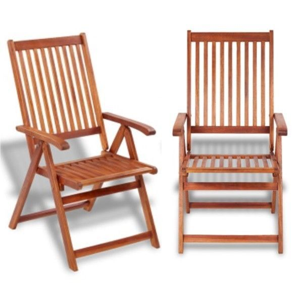 #Folding Sun Deck #Patio #Chair Set 2 #Reclining #Furniture #Outdoor
